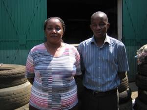 Next step for Twiga Rubber is departments all over Kenya