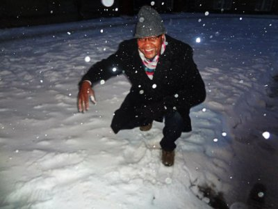 Eric in the snow