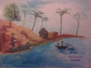 Ekeoma Obeiako, 12 years, Nigeria