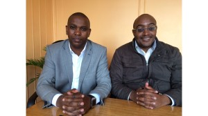 Daniel Kimani (KEEF MD) (Left) Titus Kuria (MYC4 MD) (Right)